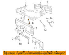 GM OEM Rear Fender Panel-Bed-Wheelhouse Brace Right 15530906