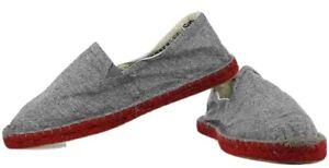 Superdry Mens Espadrilles Loafers Grey casual shoes UK 9 EU 43 fits more UK 8