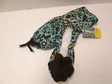 Mud Pie Blue Leopard Print Ballet Slippers, Size Small, NWT