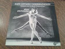33 tours alina piechowska suite d'etudes choregraphiques musique pour la danse