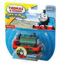 Thomas Friends Samson take-n-play Die cast metal engine tank protable playset