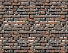 !  5 SHEETS bumpy EMBOSSED BRICK stone wall paper 21x29cm On30 CODE f55t