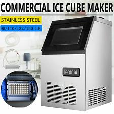 More details for 40~68 kg/24h commercial ice maker machine 32~45 cases water filter cafes 220v