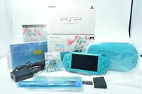 Mint HSN-0039 PSP-3000 console HATSUNE MIKU Limited PlayStation Portable 0104