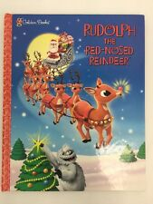 Rudolph The Red Nosed Reindeer Children Holiday Christmas Story 2001 Golden Book