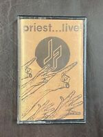 Judas Priest Live cassette tape [Breaking the Law] [Living After Midnight] METAL