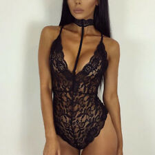 Sexy Womens Lingerie Lace Dress Underwear Nightwear Sleepwear Bodysuit