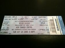 Dixie Chicks Concert Ticket Air Canada Toronto ONTARIO Canada Full Unused Ticket