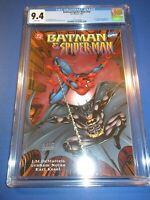 Batman Spider-man #1 CGC 9.8 NM/M Gorgeous gem Wow 1997 Ra's Al Ghul