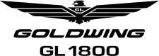 2 x Goldwing Logo GL 1800 Viele Farben Größe 15 cm x 3,5 cm ANSEHEN