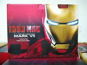 Killerbody KB20060 MK7 1/1 Iron Man MK7 Helment English Voice Control New