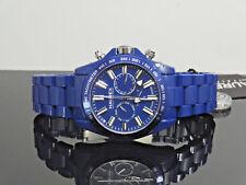 Haurex Italy B0366UB1 Aston Blue Multi-Function Tachymeter Men's Watch