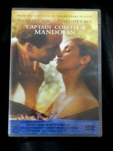 Captain Corelli's Mandolin (DVD 2002) Brand New Still Sealed in Plastic Region 4