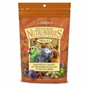 Lafeber Senior Bird Nutri-Berries Parrot Food 10 oz FRESH Conue Macaw