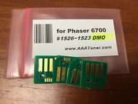 4 x Toner Chip (1526 - 1523 DMO) for Xerox Phaser 6700, 6700N, 6700DN Refill