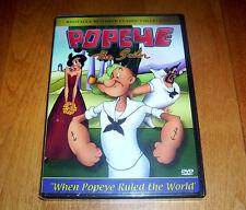 POPEYE THE SAILOR When Popeye Ruled the World 10 Cartoon Classics Cartoons DVD