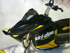 ski-doo rev-xp renegade mxz summit low windshield flat black