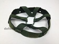 NEW US MILITARY ADJUSTABLE PASGT KEVLAR HELMET SUSPENSION ASSEMBLY SIZE MEDIUM