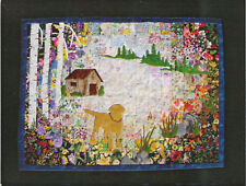 Yellow Lab Watercolor Quilt Kit by Whims