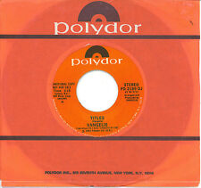 VANGELIS  Chariots Of Fire Title Theme  promo 45