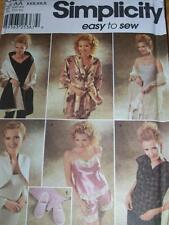 SIMPLICITY #9961- LADIES TAP PANTS-EVENING SHRUG-LINGERIE-SCARF-SLIPPERS PATTERN