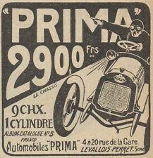 Z8069 Automobiles PRIMA - Pubblicità d'epoca - 1908 Old advertising