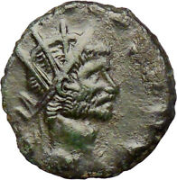 CLAUDIUS II Gothicus  Ancient Roman Coin Mars War God w spear, shield  i28825