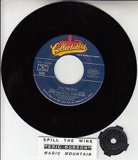 "ERIC BURDON AND WAR  Spill The Wine & Magic Mountain 7"" 45 rpm vinyl record NEW"