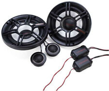 Crunch 300W Full-Range 2-Way Component Car Audio 6.5-Inch Speakers