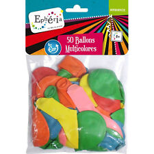 50 Ballons gonflables - Multicolore