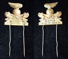 1933  Spilla,  distintivo commemorativo  Raduno Genieri  Roma 18-19 giugno