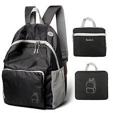 Waterproof Mens Womens Backpack School Bag Travel Satchel Laptop Bag Rucksack