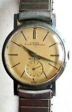 Croton Men's Vintage Nivada Grenchen Sea Blade Windup Watch w/ Incabloc Mvmt
