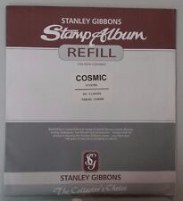 Stanley Gibbons Cosmic Stamp/Coin Album Refill Pages - 4 pocket pack of 10