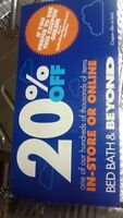 10 Bed Bath & Beyond Coupon 20% off one single item