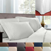 5 Piece Pleated Bed Skirt & Sheet Set 1500 Series Egyptian Comfort