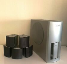 Sony Speaker System Subwoofer Surround Sound 5 Speakers SS-WS300 Set Pre-owned