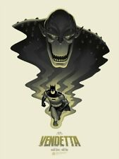 Mondo Batman TAS Vendetta Phantom City Creative Limited Edition Screen Print