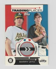 Barry Zito Giants 2007 Topps Trading Places Relics Card#TPR-BZ