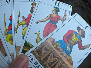 Tarot cards vintage Swiss made complete 78 card boxed 1jj ag muller 1965-1970