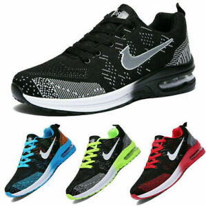 Mens Womens Trainers Running Shoes Air Gym Sports Sneakers Casual Shoes Size