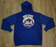 New York Mets 1990 Russell Athletic Hooded Sweatshirt men's size-Large XL New