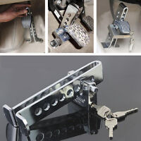 Anti-Theft Device 8Hole Stainless Steel Clutch Lock Car Brake Security Lock Tool