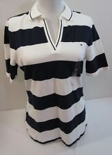 TOMMY HILFIGER WOMEN POLO SHIRT NEW WITH TAG SZ MD