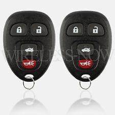 2 Car Key Fob Keyless Remote 4Btn For 2006 2007 2008 2009 2010 Chevrolet Impala