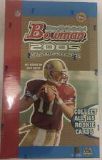 2005 Bowman HTA Jumbo NFL Football Factory Sealed Hobby Box