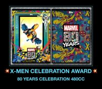 Topps Marvel Collect Digital Trader 80 Years Celebration X-MEN WOLVERINE AWARD 8