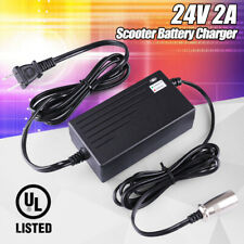 Pride Mobility Electric Scooter Battery Charger Shoprider Mobility XLR 24V 2A CA
