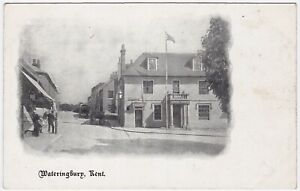 KING'S HEAD BOW ROAD WATERINGBURY Nr. MAIDSTONE KENT c.1908 aFINE COND. POSTCARD
