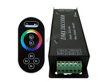Strip DMX Decoder 3 Channel Common Anode Led Controller DMX100 + Remote Control